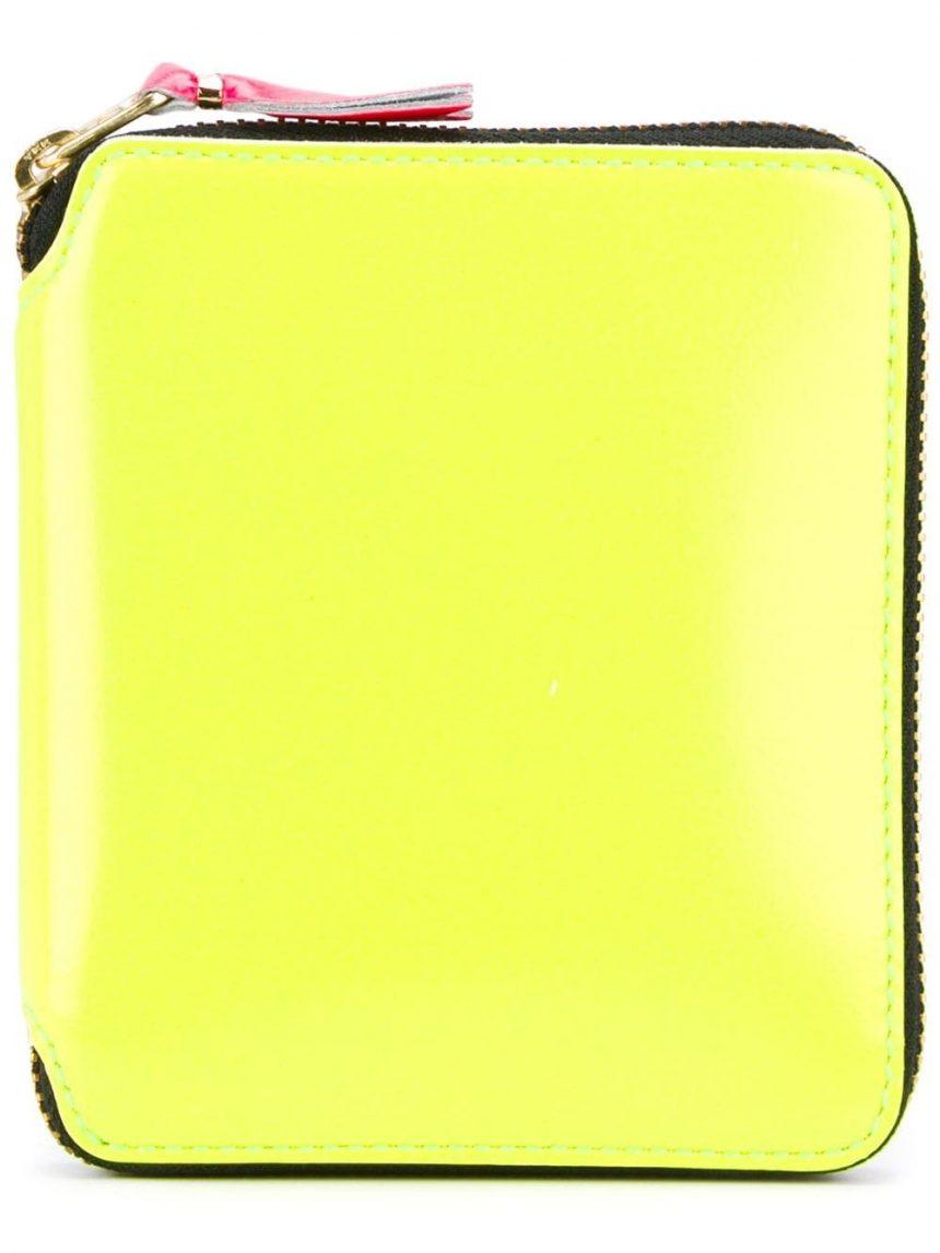 SA2100SF Wallet CDG super fluo Yellow