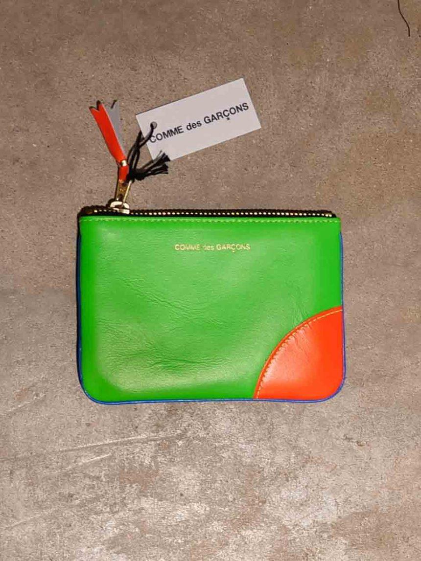 SA8100SF Wallet CDG Super fluo orange bleu